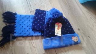 Шапка и шарф. Рост: 86-92, 92-98, 98-104 см