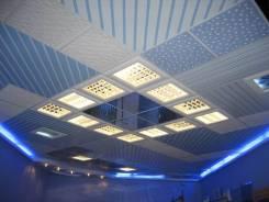 Кассетный потолок. Кассета Албес Подвесной потолок