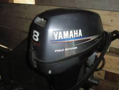 Yamaha. 8,00л.с., 4х тактный, бензин, нога L (508 мм), Год: 2010 год