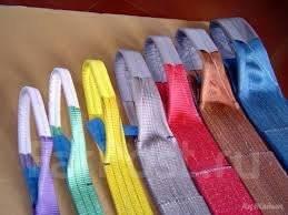 Стропы текстильные.