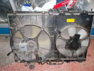 Радиатор охлаждения двигателя. Mitsubishi Chariot Grandis, N84W
