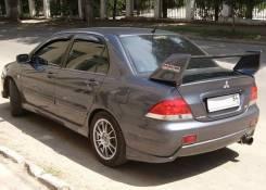 Накладка на бампер. Mitsubishi Lancer, CS3W, CS1A Двигатели: 4G18, 4G63, 4G13. Под заказ