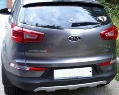 Накладка на бампер. Kia Sportage, SL Двигатели: D4FD, G4KE, D4HA, G4KD, G4FD, G4KH. Под заказ