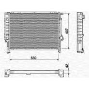 Радиатор охлаждения двигателя. BMW
