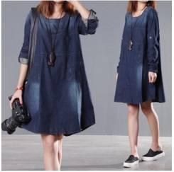 Платья джинсовые. 48, 50, 52