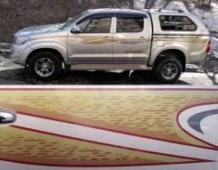 Наклейка. Toyota Hilux Surf