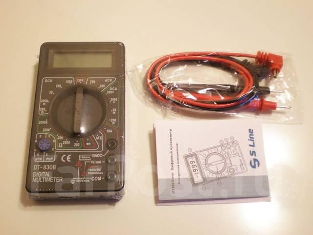 мультиметр dt-830b инструкция на русском