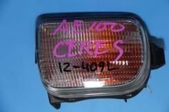 Повторитель поворота в бампер. Toyota Corolla Ceres, AE100, AE101 Двигатели: 4AGE, 5AFE, 4AFE