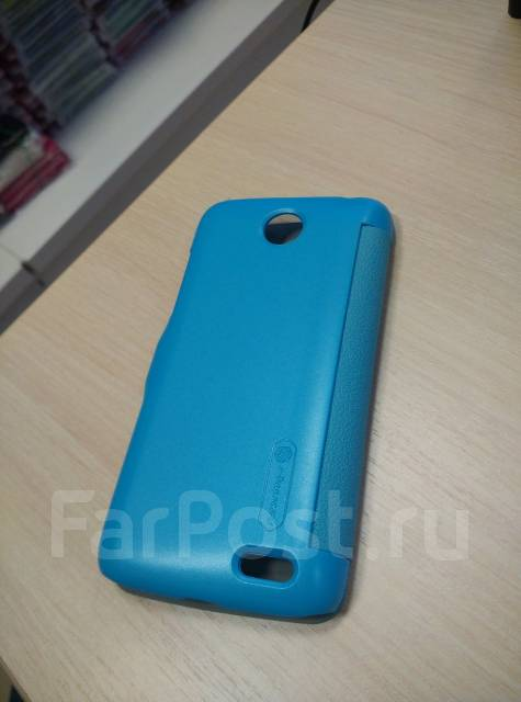 Чехол-книга для Lenovo A516 Nillkin Fresh Leather Case Синий