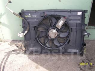 Радиатор охлаждения двигателя. Volkswagen Touareg, 7LA, 7L7, 7L6 Двигатели: BPD, BAR, BHL, BJN, BRJ, CFRA, AXQ, CASA, CASC, AYH, BMV, BPE, CATA, BLE...