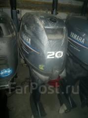 Yamaha. 20,00л.с., 4-тактный, бензиновый, нога L (508 мм), Год: 2006 год