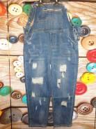 Комбинезоны джинсовые. 48, 50