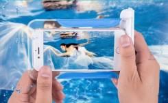 Чехол для телефона водонепроницаемый Плюс CityFoxc зеленый 5,1-6