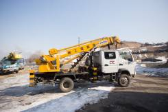 Услуги/Аренда Ямобура (в т. ч.4WD), Автовышки 45-25 м, КРАН 25 тн