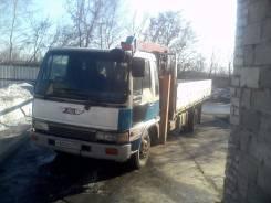 Hino Ranger. Бортовой грузовик с манипулятором 7000 куб. см. 5000 кг., 7 000 куб. см., 5 000 кг.