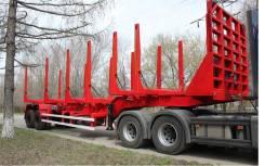 Texoms 983921. Полуприцеп-сортиментовоз 32 тонн 2 оси от завода, 32 000 кг.
