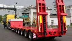 983915, 2017. 5осный 60 тонн полуприцеп низкорамный от завода, 600 000 кг.