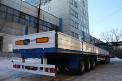 Texoms. Бортовой 30 тонн 3-х осный односкатный от завода, 30 000кг.
