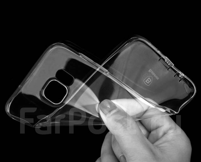 Чехол-накладка для Samsung Galaxy S7 Edge Baseus Tpu Case