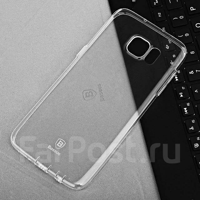 Чехол-накладка для Samsung Galaxy S7 Baseus Tpu Case Прозрачный
