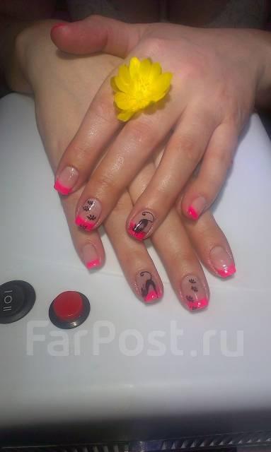 Владивосток наращивание ногтей на дому