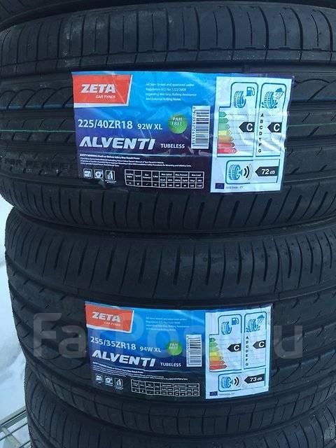 Zeta Alventi. Летние, 2017 год, без износа, 4 шт. Под заказ