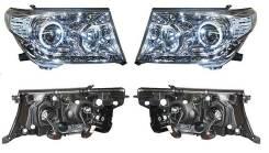 Фара. Toyota Land Cruiser, UZJ200W, URJ202W, J200, UZJ200, VDJ200 Двигатели: 2UZFE, 1URFE, 3URFE, 1VDFTV. Под заказ