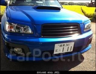 Накладка на фару. Subaru Forester, SG5, SG