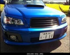 Накладка на фару. Subaru Forester, SG5, SG Двигатели: EJ203, EJ202, EJ25, EJ205, EJ20