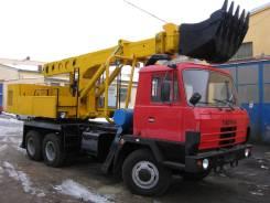 Tatra UDS-114. Продаётся экскаватор-телескоп колёсный, 0,65куб. м.