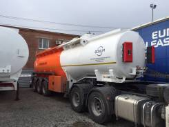 Bonum. Цистерна бензовоз 28 м3 Бонум полуприцеп, 23 700 кг.