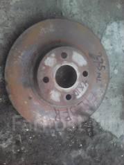 Диск тормозной. Toyota Corolla Fielder, NZE121, NZE121G