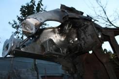 Передняя часть автомобиля. Skoda Octavia