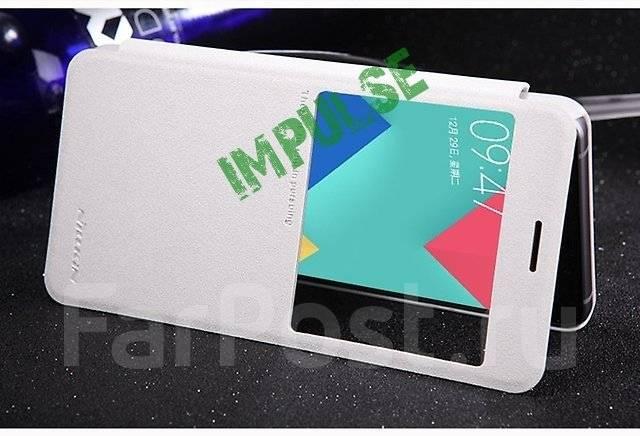 Чехол-книга для Samsung Galaxy A7 2016 Nillkin Sparkle Leather Case Белый