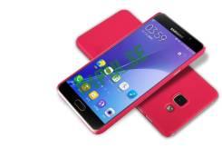 Чехол-накладка для Samsung Galaxy A5 2016 Nillkin Super Frosted Shield Красный