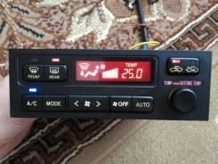 Блок управления климат-контролем. Toyota Chaser, GX100, JZX101, JZX100, GX105, LX100, JZX105, SX100 Двигатели: 1JZGE, 1JZFE, 2JZGE, 1GFE, 1JZGTE, 2LTE