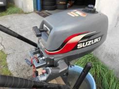 Suzuki. 4,00л.с., 2-тактный, бензиновый, нога S (381 мм)