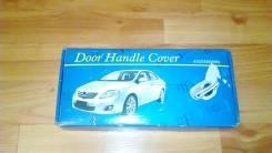 Накладки дверных ручек хром Corolla Axio. Toyota Corolla Axio