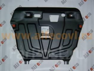 Защита двигателя железная. Toyota Corolla Fielder, NZE141G, ZRE142G