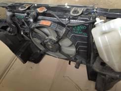 Радиатор охлаждения двигателя. Mitsubishi Pajero Mini, H53A Двигатель 4A30