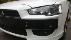 Подиум. Mitsubishi Lancer X