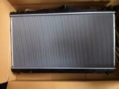 Радиатор охлаждения двигателя. Toyota Camry, ASV50 Двигатель 2ARFE