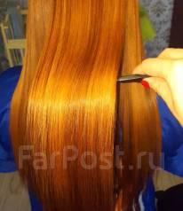 Кератиновое выпрямление волос. Под заказ