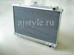 Радиатор охлаждения двигателя. Nissan Skyline, ER33, ECR33, HR33, ENR33, BCNR33 Nissan Laurel, GNC34, GC34, GCC34 Двигатели: RB25DE, RB25DET