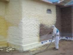Теплоизоляционные работы Напыление ППУ как метод утепления зданий