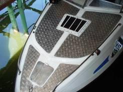 Отделка кораблей, лодок, яхт и катеров рифленым алюминием. Под заказ