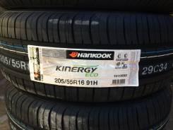 Hankook Kinergy Eco K425. Летние, 2016 год, без износа, 4 шт
