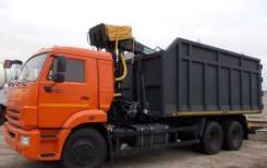 Камаз 65115. Кму ломовоз камаз-65115-773094-42 омтл 97, 8 000 куб. см., 15 000 кг.
