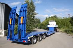 Техомs. Трал ломаный заниженный 40 тонн 3 оси от завода, 40 000 кг.