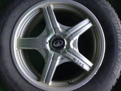*Шины 215/60 R16 Bridgestone на литых дисках Kosei. 7.0x16 5x100.00, 5x114.30 ET50 ЦО 73,1мм.